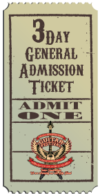3 Day General Admission Ticket