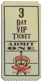3 Day VIP Ticket