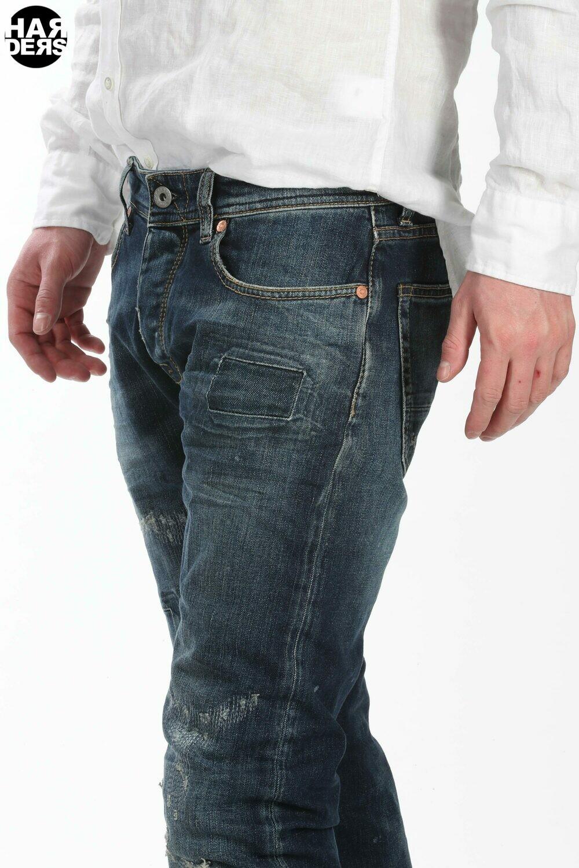 Taylor Tweed Jeans Phantom