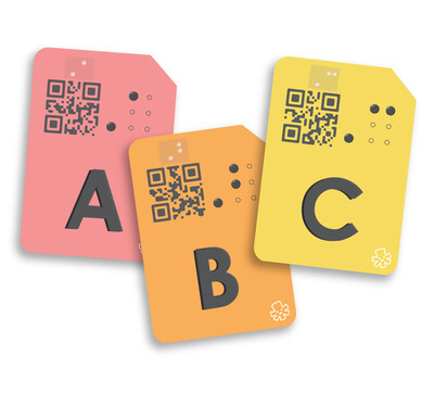 Uppercase Alphabet Flash Cards