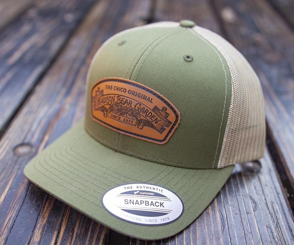 Trucker Snapback Hat Green