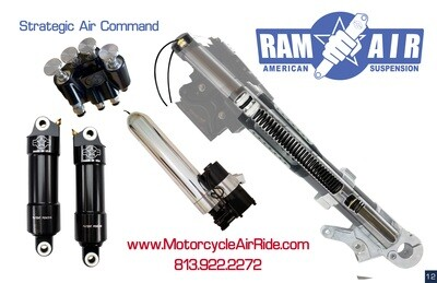 American Suspension Ram Air Fast Up Kit