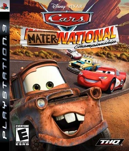 Cars Mater National - PS3 - New