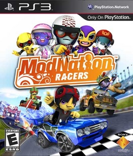 ModNation Racers - PS3 - New