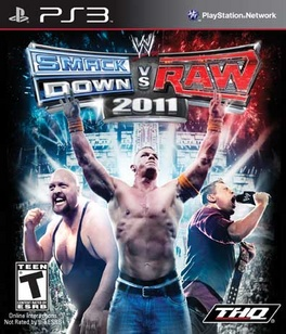 WWE Smackdown Vs Raw 2011 - PS3 - New