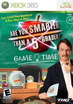Are You Smarter Than A Fifth Grader Game Time - XBOX 360 - New