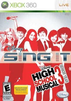 Disney Sing It High School Musical 3 Senior Year - XBOX 360 - New