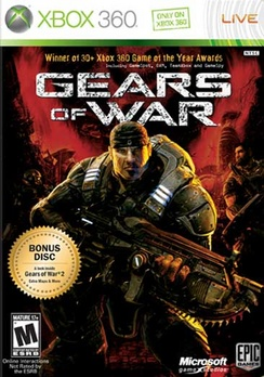 Gears Of War (w/Bonus Disc Preview Of GOW 2) - XBOX 360 - New