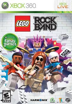 Lego Rock Band - XBOX 360 - New