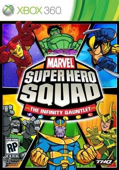 Marvel Super Hero Squad: The Infinity Gauntlet - XBOX 360 - New