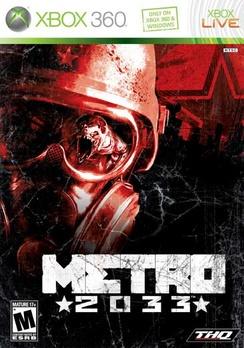 Metro 2033 - XBOX 360 - New