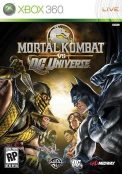 Mortal Kombat vs DC Universe - XBOX 360 - New