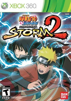 Naruto Ultimate Ninja Storm 2 - XBOX 360 - New