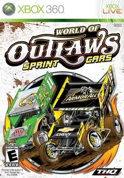 World Of Outlaws Sprint Cars - XBOX 360 - New