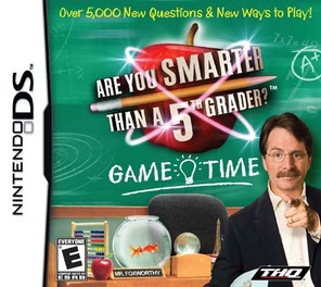 Are You Smarter Than A Fifth Grader Game Time - DS - Used