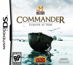 Commander Europe At War - DS - Used
