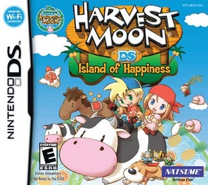 Harvest Moon Island Of Happiness - DS - Used