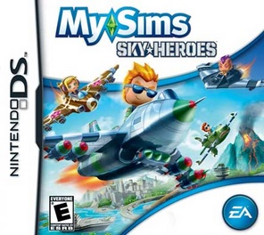 My Sims Sky Heroes - DS - Used