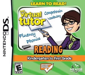My Virtual Tutor-Reading K-1st Grades - DS - Used