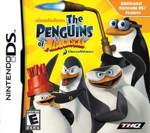 Penguins Of Madagascar - DS - Used