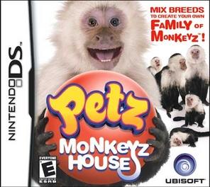 Petz Monkeyz House - DS - Used