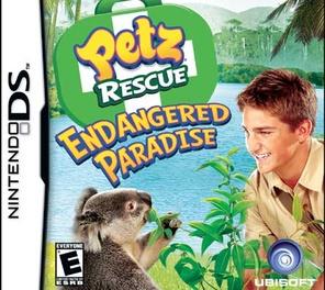 Petz Rescue Endangered Paradise - DS - Used