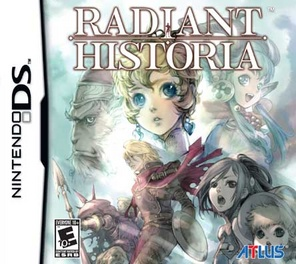 Radiant Historia with music CD - DS - Used