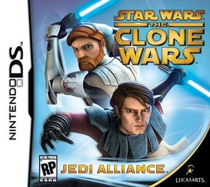 Star Wars The Clone Wars Jedi Alliance - DS - Used