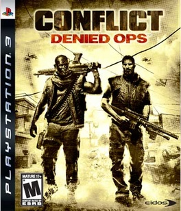 Conflict Denied Ops - PS3 - Used