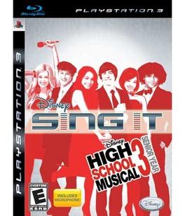 Disney Sing It High School Musical 3 Senior Year B - PS3 - Used