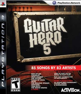 Guitar Hero 5 (Game Only) - PS3 - Used