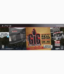 Rise Of The Sixstring Guitar Kit - PS3 - Used