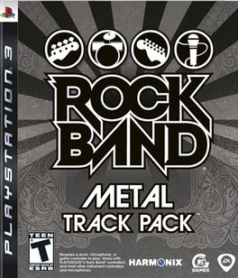 Rock Band Metal Track Pack - PS3 - Used