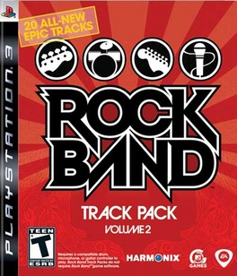Rock Band Track Pack Vol 2 - PS3 - Used