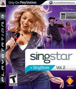 Singstar Vol 2 (software only) - PS3 - Used