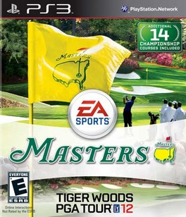 Tiger Woods PGA Tour 12 The Masters - PS3 - Used