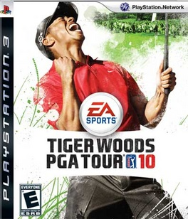 Tiger Woods PGA Tour 2010 - PS3 - Used