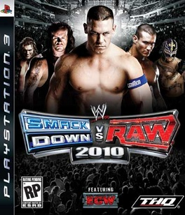 WWE Smackdown Vs Raw 10 - PS3 - Used