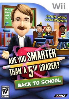Are You Smarter Than A 5th Grader: Back To School - Wii - Used