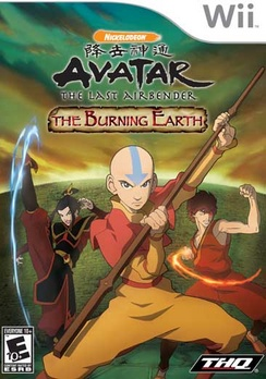 Avatar The Burning Earth - Wii - Used