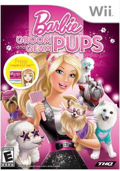 Barbie: Groom and Glam Pups - Wii - Used
