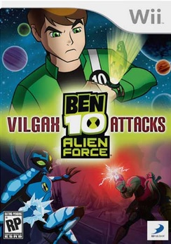 Ben 10: Alien Force Vilgax Attacks - Wii - Used