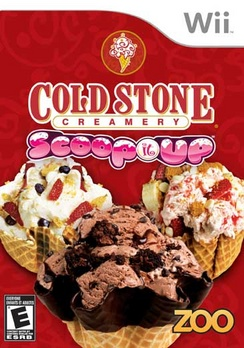 Coldstone Scoop It Up - Wii - Used