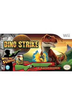 Dino Strike with Green Gun Bundle - Wii - Used