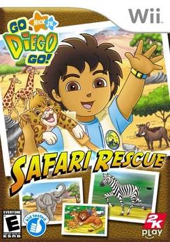 Go Diego Go Safari Rescue - Wii - Used