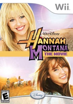 Hannah Montana The Movie - Wii - Used