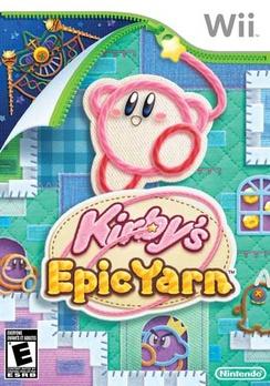 Kirbys Epic Yarn - Wii - Used