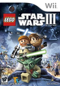Lego Star Wars 3 The Clone Wars - Wii - Used