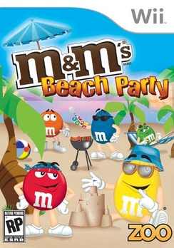 M&Ms Beach Party - Wii - Used