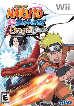 Naruto Shippuden Dragon Blade Chronicles - Wii - Used